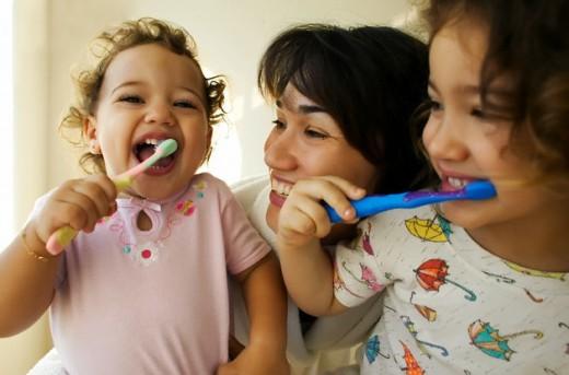 Cách chăm sóc răng cho trẻ của người Nhật